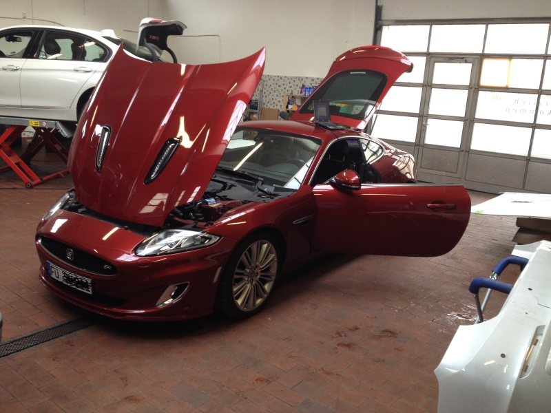 Jaguar XKR Chiptuning von ISY POWER